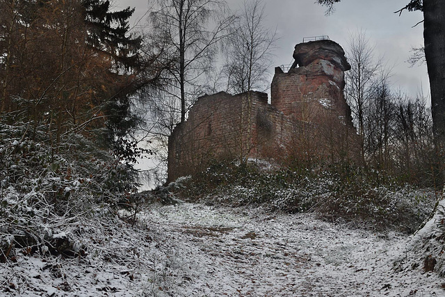 Le château de Hohenbourg