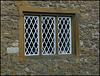 diamond-patterned window