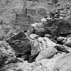 Do not climb, at St Agnes