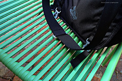 my bag on the chair