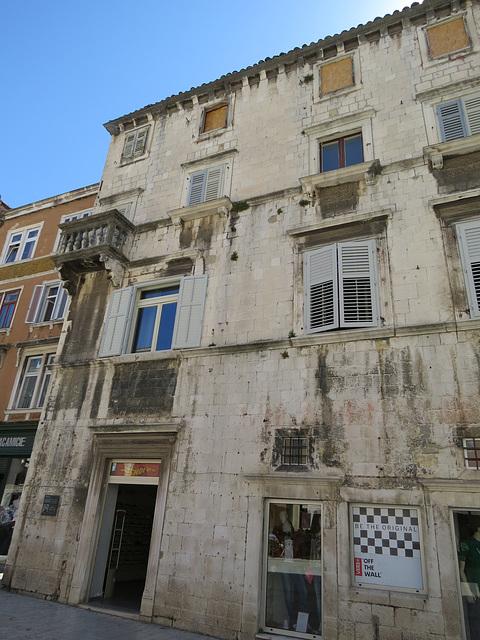 Les rues de Split.