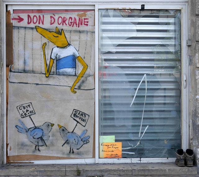 Tout va bien : Street Art .