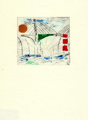 drypoint and monoprint