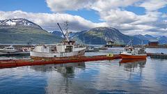 Skibotn harbour