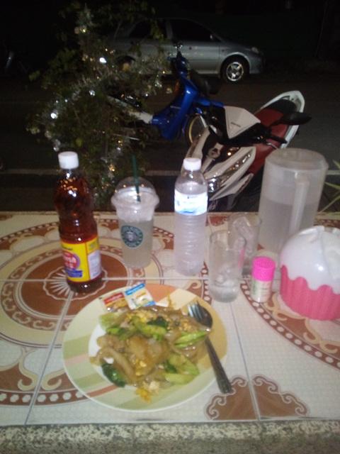 Un souper typique à la thaï