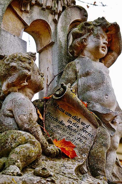 Herbst im Friedhof - Autumn in the Cemetery