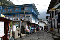 On the Street in Lukla