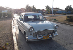 Ford Consul of yesteryear