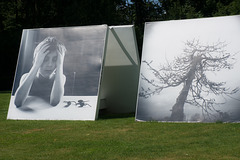 Exposition de photos en plein air
