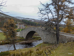 The Gairnshiel Bridge on the Glenshee road