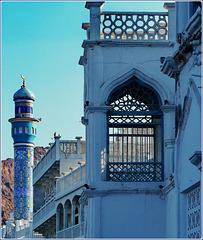 Mutrah :  Al Sayyidah Khadijah mosque