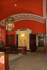 Entrance Hall, Wollaton Hall, Nottingham, Nottinghamshire