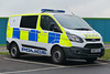 Hampshire Police Ford Transit Custom - 23 November 2018