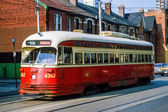 Toronto - streetcar - 1986