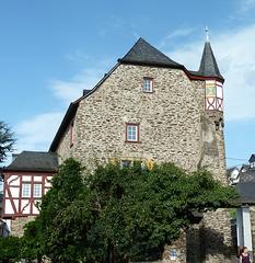 Die sogenannte Heesenburg in Dieblich
