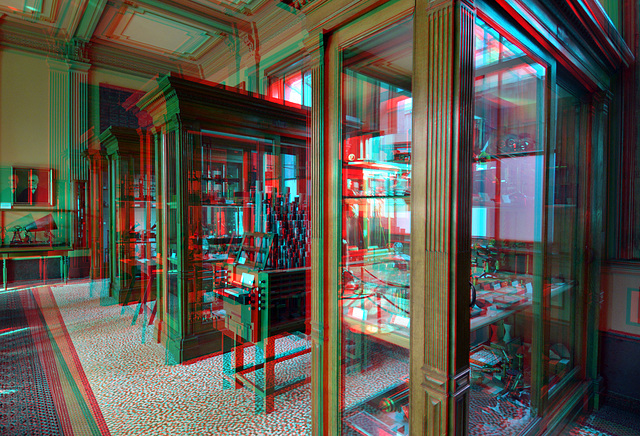 Instrumenten-zaal Teylers-museum Haarlem 3D