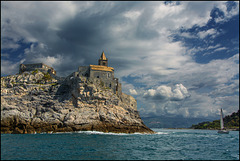 Leaving Portovenere