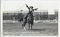 WP2198 WPG - FLORENCE LA DUE… WINNIPEG STAMPEDE 1913