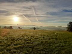 Sonnenaufgang bei Attendorn 2
