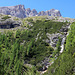 Wasserfall im Altsteinertal