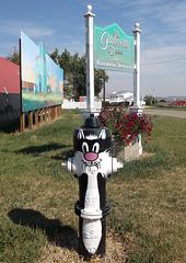 Cat hydrant / Bornes à incendie miaulante