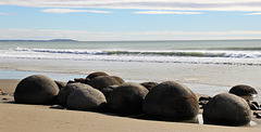 New Zealand / Moeraki Boulders
