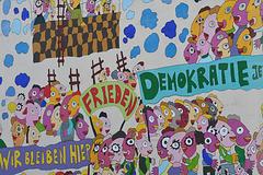 Frieden, Demokratie, Wir bleiben hier