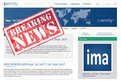 IMA NEWSFLASH Sept 29, 2017 / 29. Sept. 2017