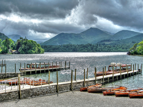Calm before the storm, Derwent Water, Cumbria