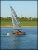 round the buoy