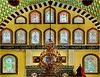 Izmir - le finestre decorate della moskea - (509)