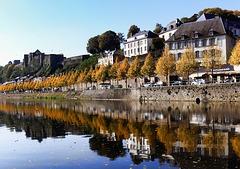 Bouillon with castle