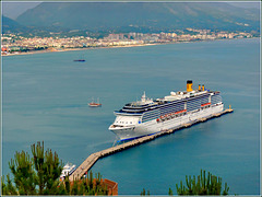 Alanya : Costa Mediterranea ci aspetta per la partenza