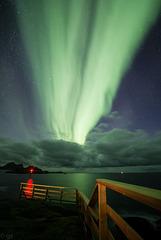 Aurora fence
