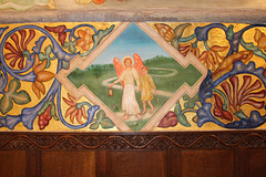 Phoebe Anna Traquair Murals of c1905, St Peter's Church, Clayworth, Nottinghamshire