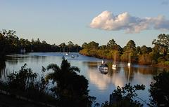 Maryriver in Queensland, Australien