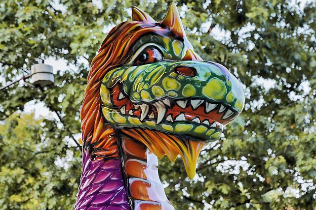 Plastic Dragon – Labor Day Festival, Greenbelt, Maryland