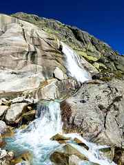 Lake Grimsel and Unteraargletscher (Lower Aare-Glacier)