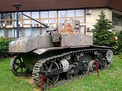 And this tank contributed to Victory Day