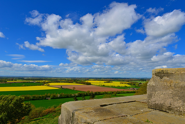 View from Duke of Sutherland monument