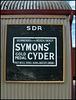 Symons' gold medal Cyder