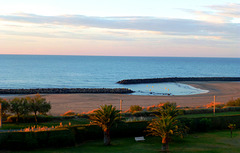 FR - Cap d'Agde - View from our appartment