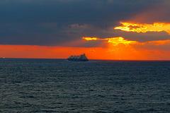 Sea of Japan sunset
