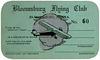 Bloomsburg Flying Club Membership Card, ca. 1930s