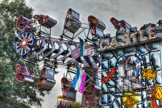 Behind the Castle – Labor Day Festival, Greenbelt, Maryland