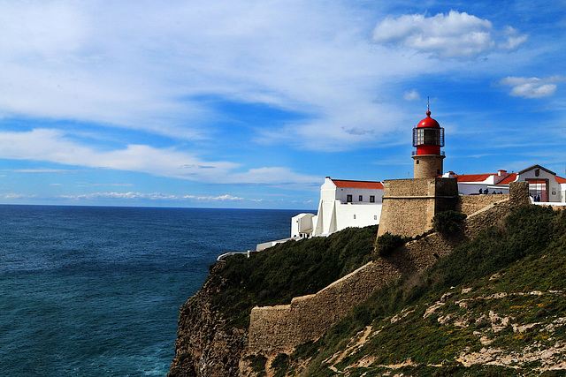 Le phare du Cap Saint-Vincent - Portugal
