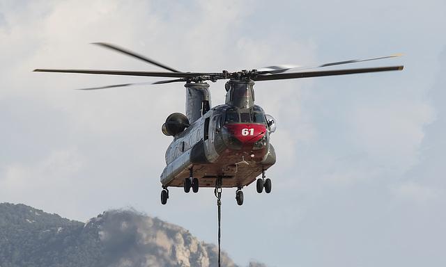 Billings Flying Service Boeing-Vertol CH-47D Chinook N561AJ