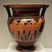 Red-Figure Column Krater with Horses and Youths in the Getty Villa, June 2016