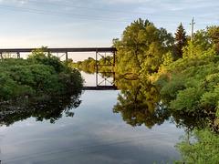 Reflet de pont