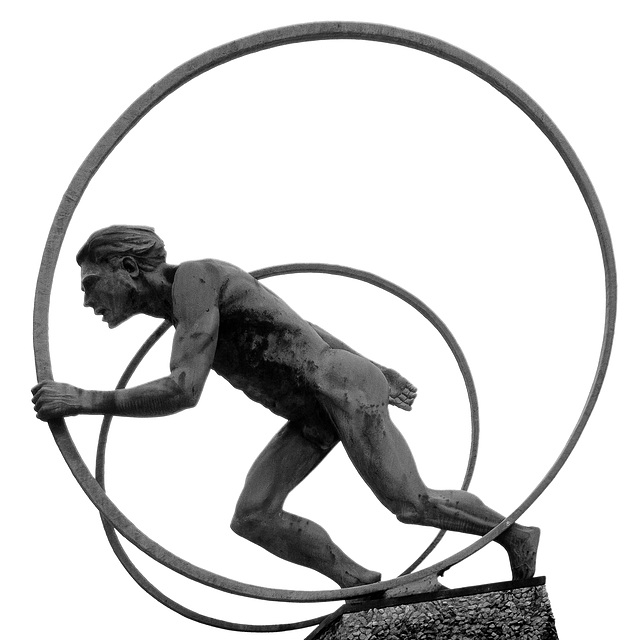 Locomotion Sculpture, Scotrail HQ, Buchanan House, Glasgow